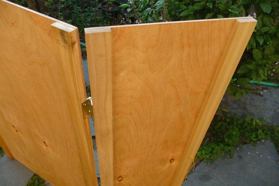 Tri Fold Display Board By Scott At Lumberjockscom Woodworking