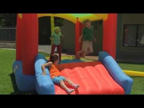 Little Tikes Shady Jump n Slide Bouncer | ToyCorridor