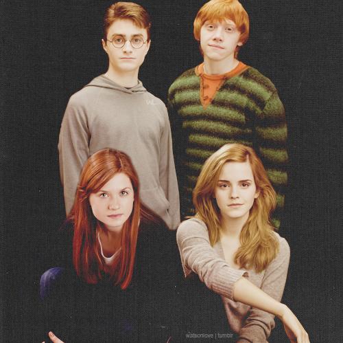 Watsonlove Harry Potter Ginny Harry Potter Ron Harry Potter Actors