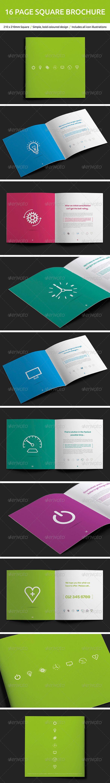 16 Page Square Brochure