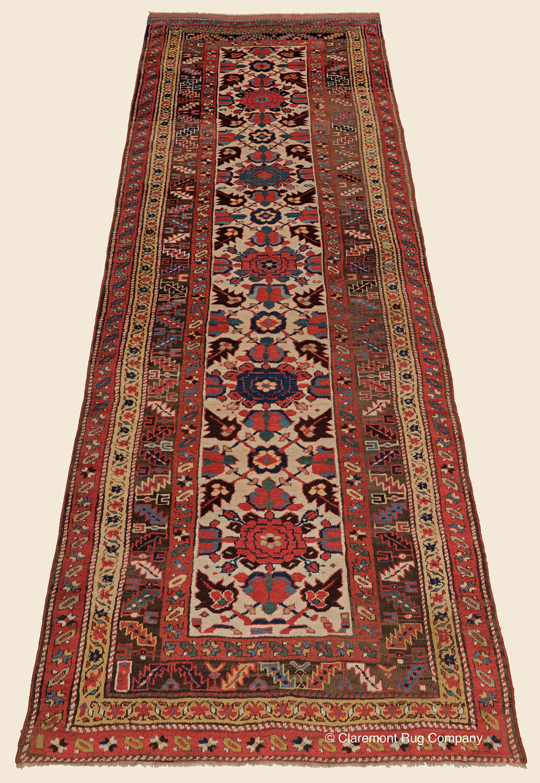 Antique Northwest Persian Kurdish Runner In 2020 Claremont Rug Company Rug Company Rugs