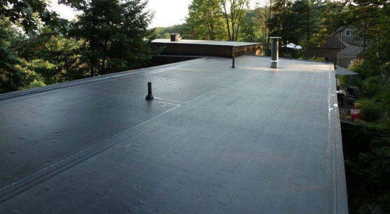 Epdm Rubber Roof Repair In 2020 Epdm Roofing Flat Roof Flat Roof Repair