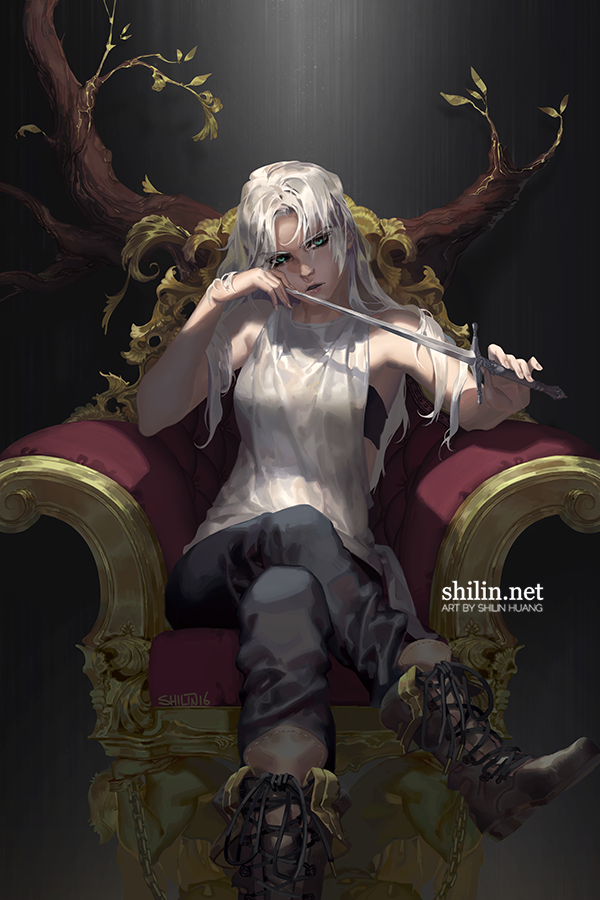 Throne 11 X17 Poster From Shilin S Shop In 2020 Character Inspiration Fantasy Girl Fantasy Art