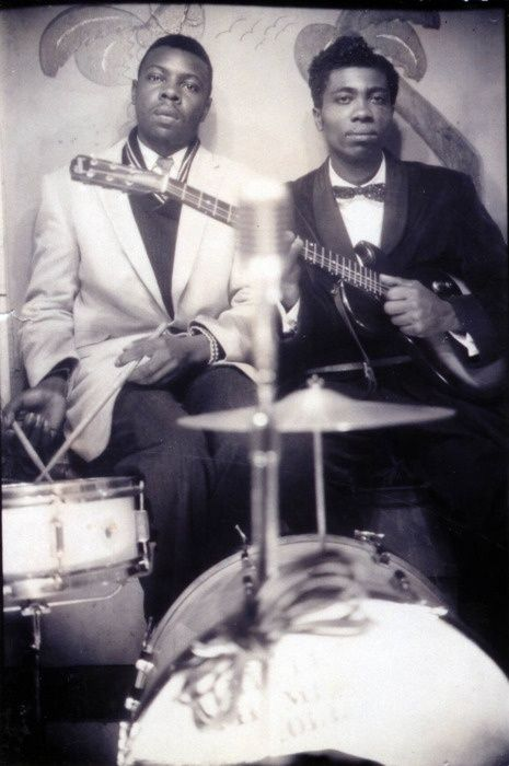 Fred Below and a young Otis Rush.