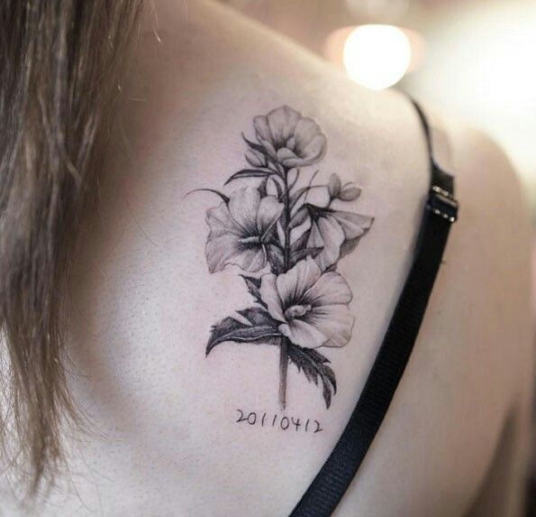 Pin By Elle Chan On Tattoos Tattoos Flower Tattoos 100 Tattoo