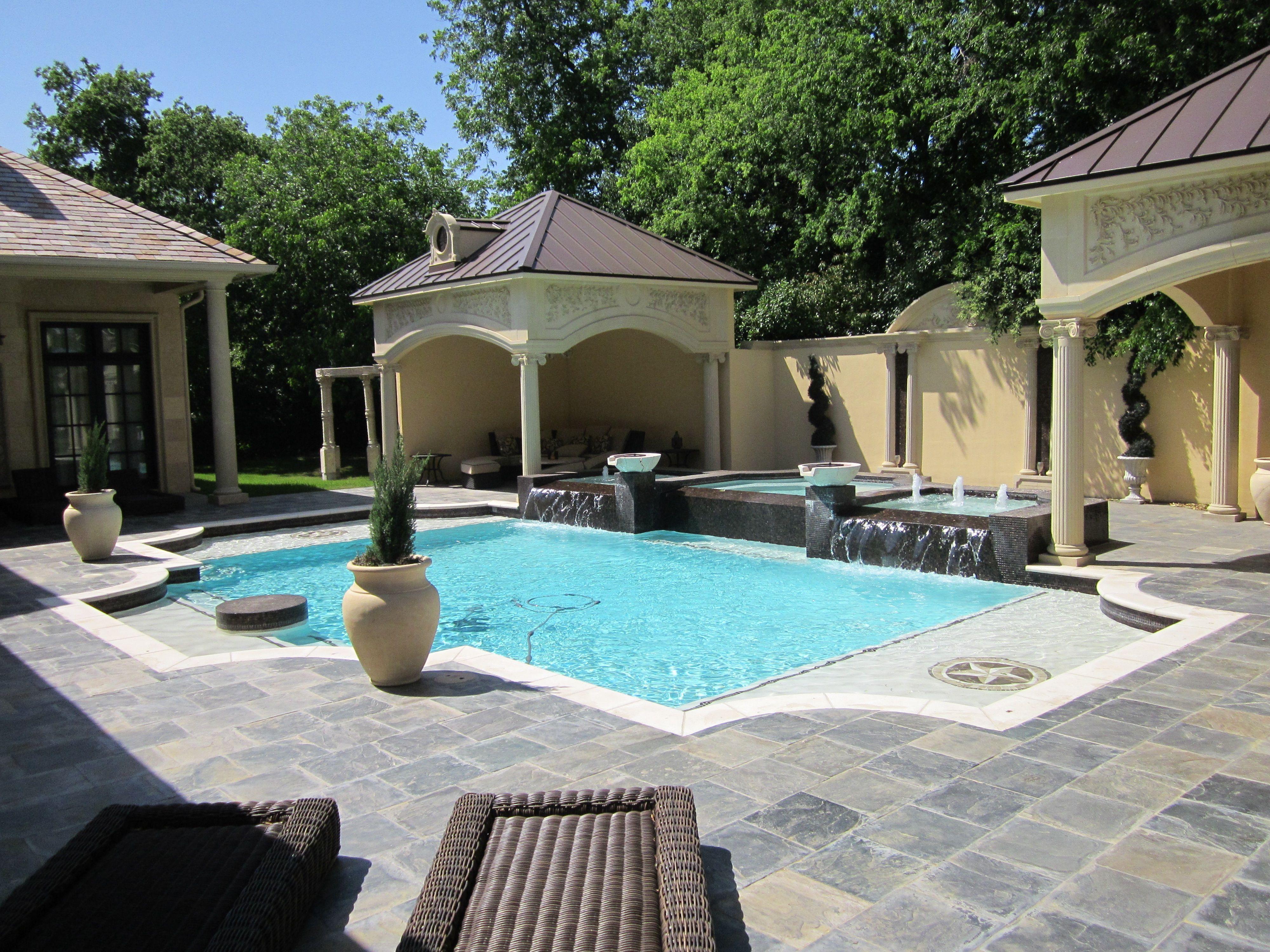 Roman Style Hobert Pool And Spa In Preston Hollow Pool