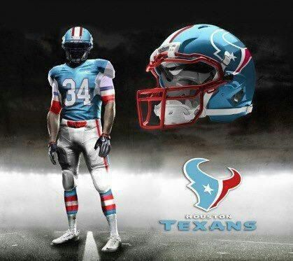 Houston Texans - Throwback Colors  a5eb2cf50