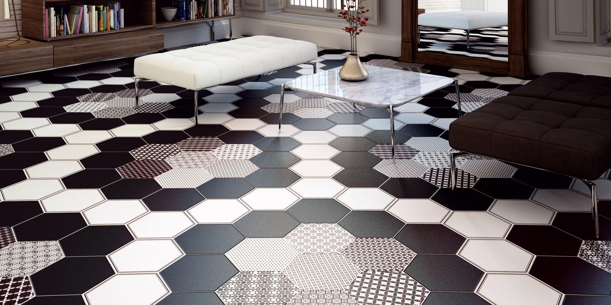 Realonda grazia series black and white ceramic tile from tile of black and white ceramic tile from tile of spain doublecrazyfo Image collections