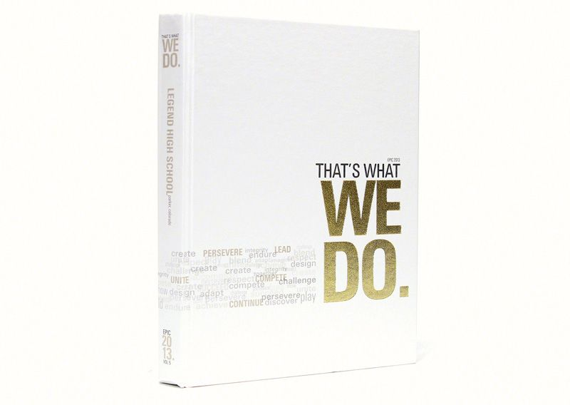 White Yearbook Cover : High school theme concept yearbooks yearbook