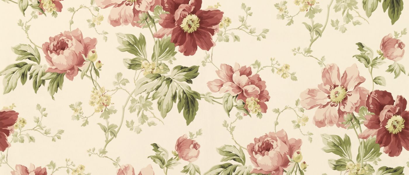 Peony Garden Cranberry Wallpaper At Laura Ashley For That Lovley