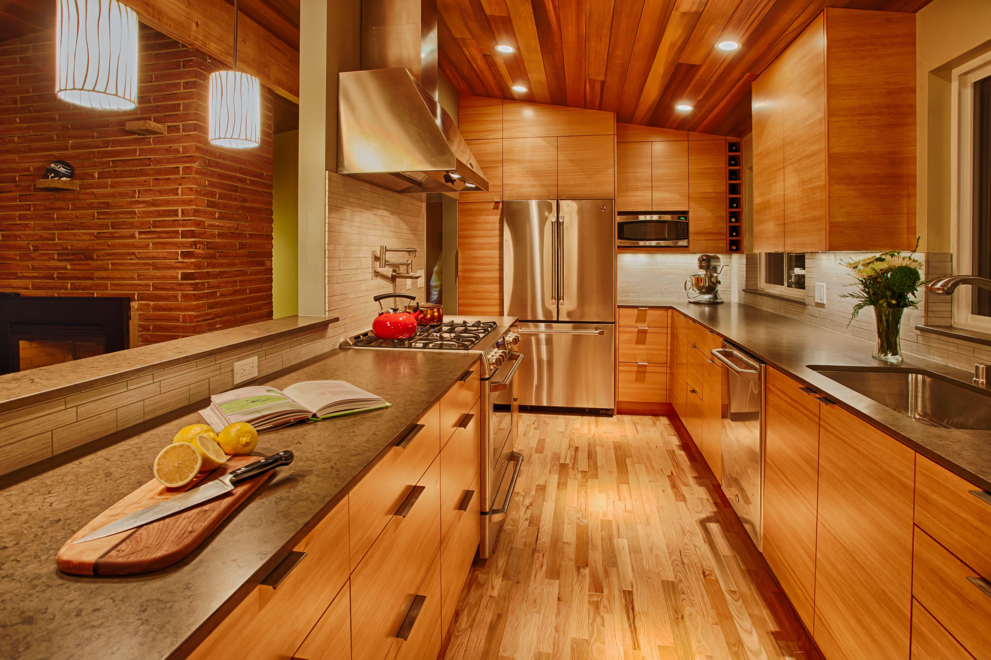 Semihandmade Douglas Fir Ikea Kitchen In Seattle Wa Ikea Cabinets Kitchen Models Retro Kitchen