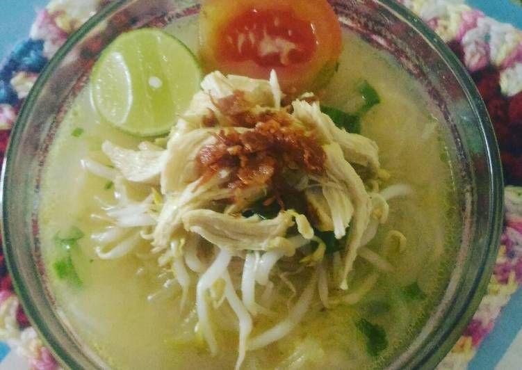 Resep Soto Kemiri Gurih Oleh Pawon Mbak Yu Resep Makan Siang Resep Makanan