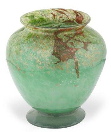 Monart Footed Glass Vase 1930s Glass Glass Glass I Love Glass