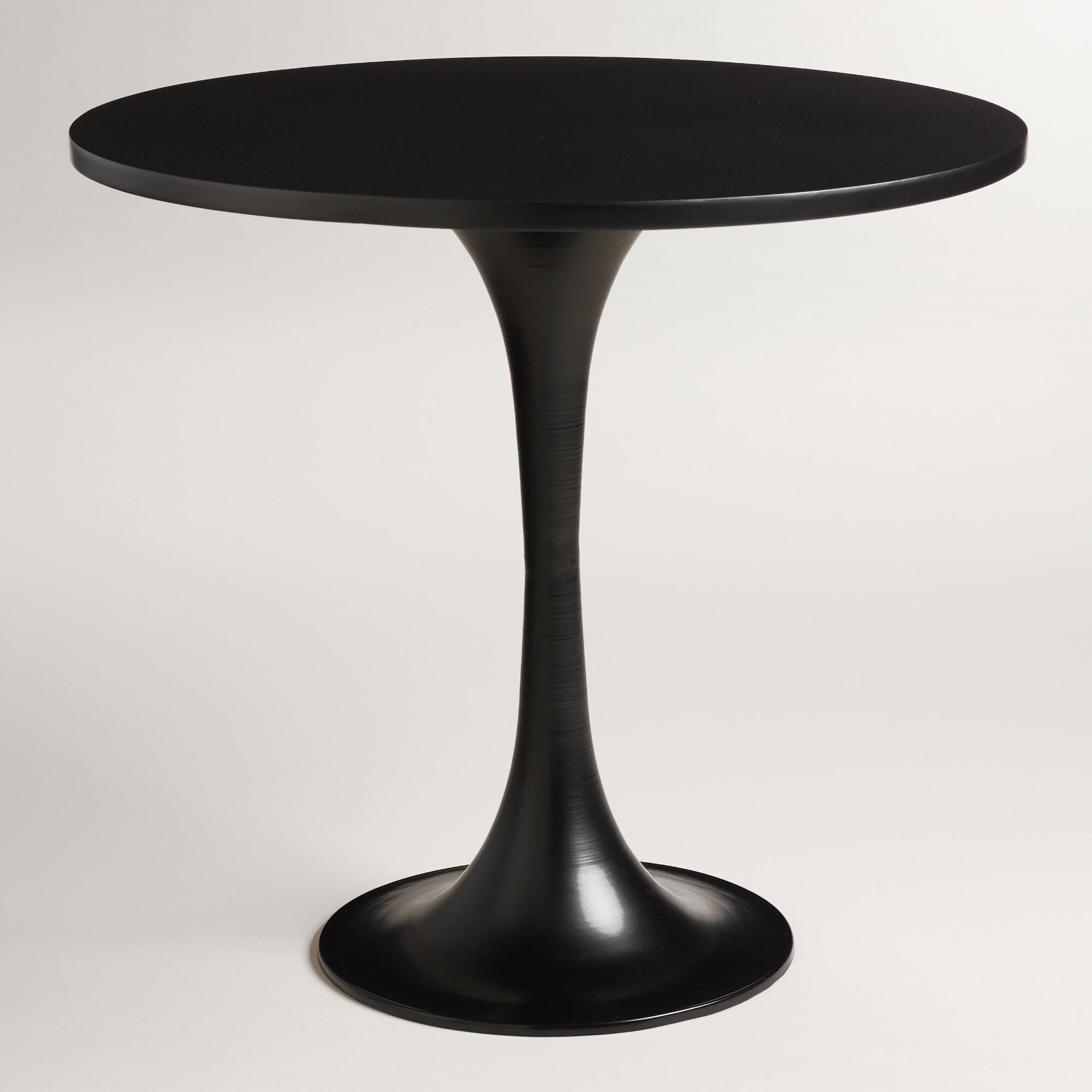 - Round Metal Glynn Accent Table Accent Table, Round Metal Table