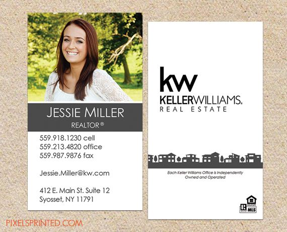Realtor Business Cards Real Estate Agent Realty