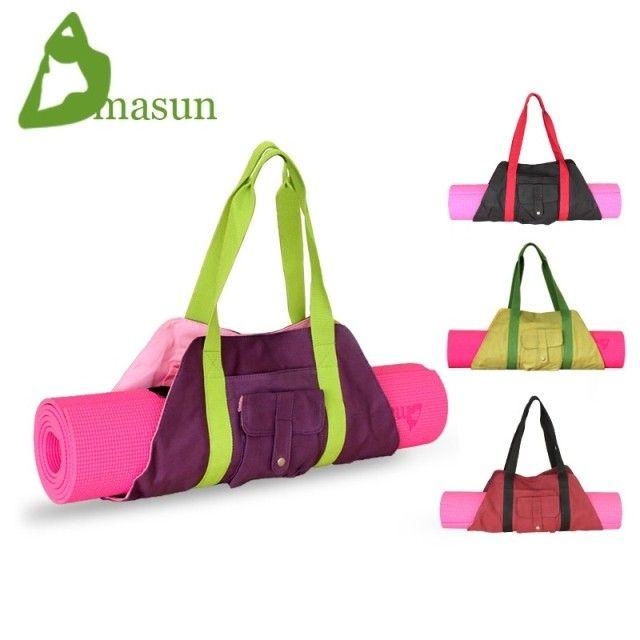 Canvas bag portable fashion yoga bag yoga mat bag-inYoga Bags from ...