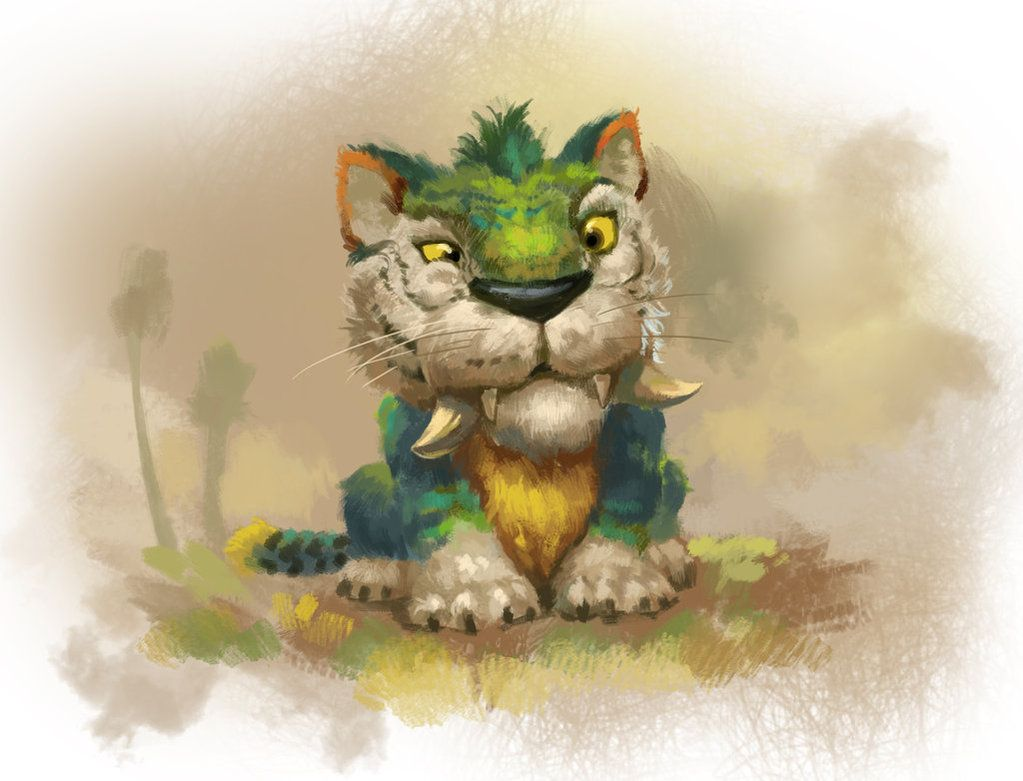 Big cat by *zippo514 (The Croods)   Toon Town   Pinterest ...