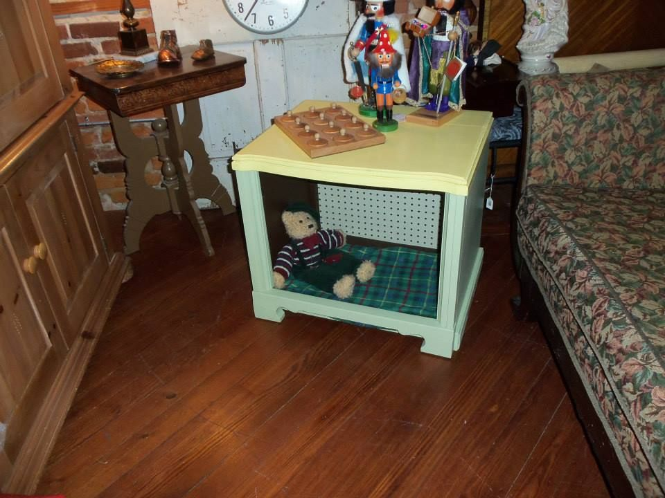 Old TV cabinet made into a pet bed. | Finished Projects | Pinterest