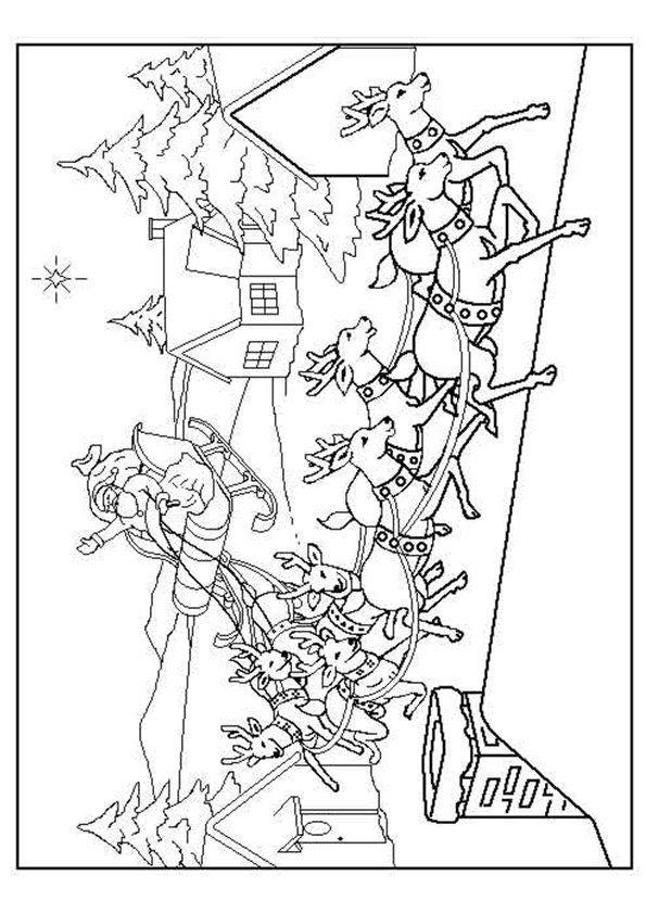 malvorlagen weihnachten - kleurplaten - #kleurplaten #
