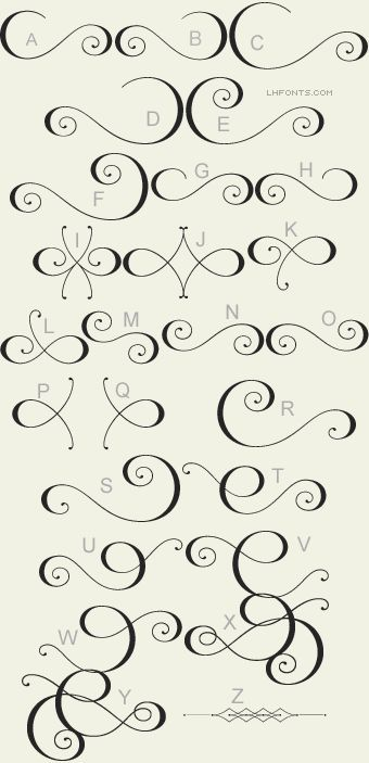 LHF Encore™: Lovers of beautiful calligraphy and type will