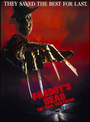 El Oscuro Rincón Del Terror Pesadilla En Elm Street 6 Pesadilla Final La Muer Peliculas De Terror Pesadilla En Elm Street Horror Movie Posters