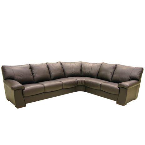 Merveilleux Top Grain Leather Hazelnut Sectional   Furniture Store, St. Louis,  Missouri. Phillips