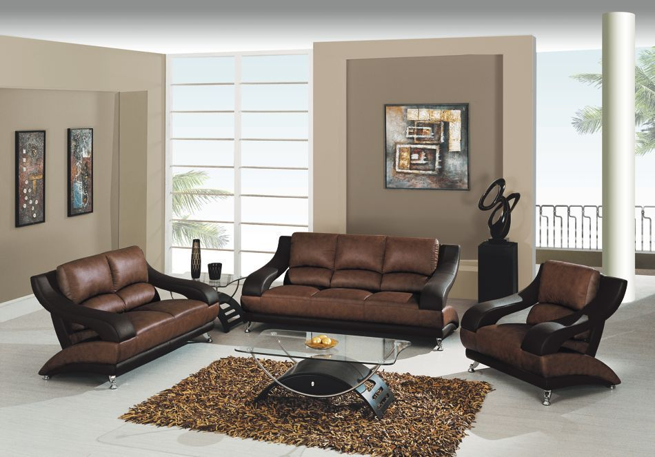 Cheap Sectional Sofas Global Furniture Piece Brown Leather Sofa Set furniture livingroom home