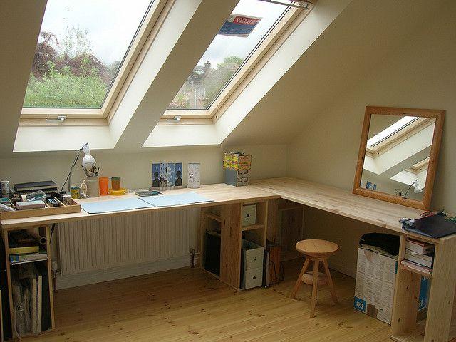 おしゃれな屋根裏部屋 画像まとめ キニナルーツ 低い天井 屋根裏