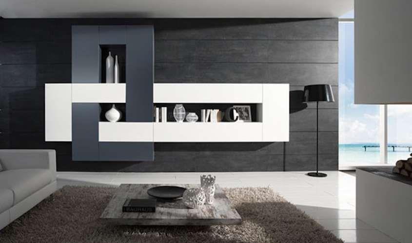 Pareti attrezzate moderne le soluzioni 2014 mobili for Mobili pareti attrezzate moderne