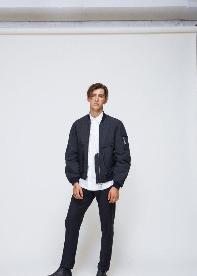 21158fe7d Tonsure Bomber Jacket   Products   Bomber jacket, Jackets, Zipper
