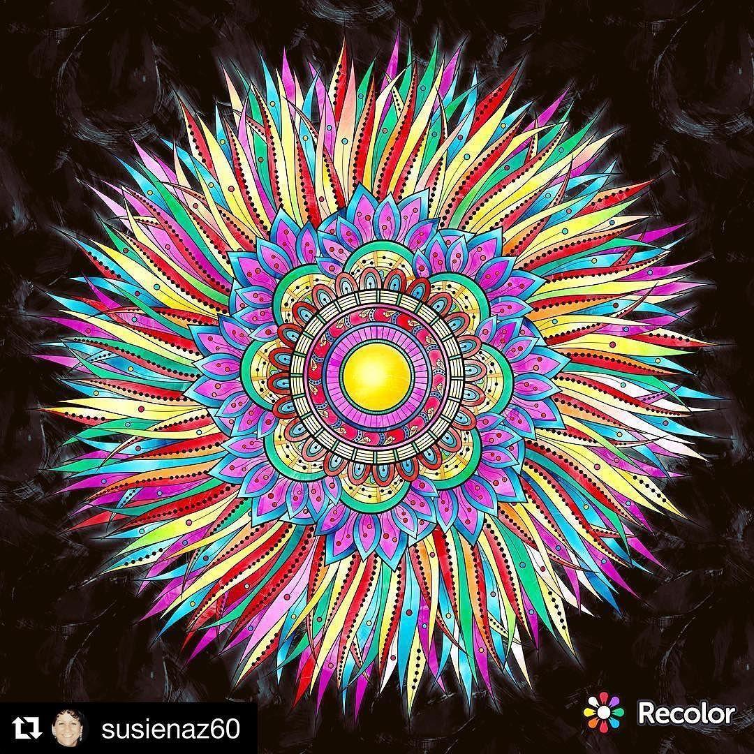 Zendoodle coloring enchanting gardens - Zentangle Coloring Pages Mandala Zendoodle
