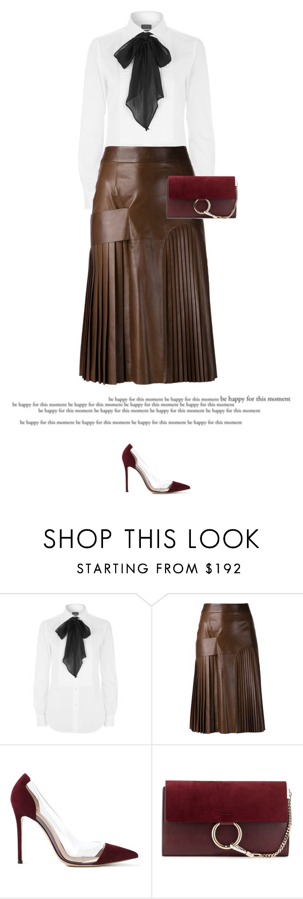 """Brown & Red"" by anja-173 ❤ liked on Polyvore featuring Polo Ralph Lauren, Givenchy, Gianvito Rossi and Chloé"