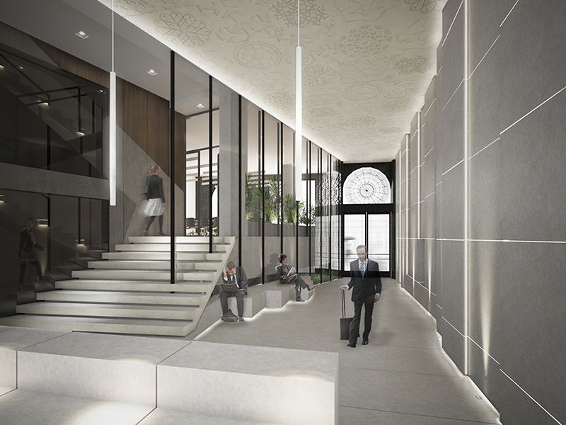 Design sinestezia keywords interior lobby entrance for Modern entrance hall