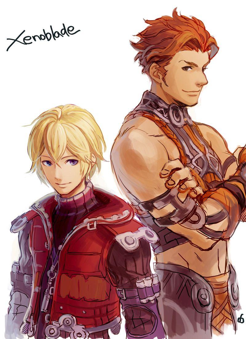 Xenoblade Chronicles - Shulk and Reyn