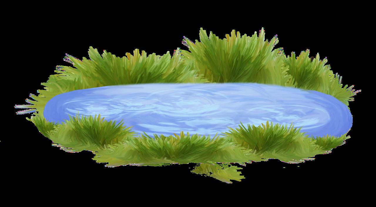 картинка мультяшного озера чем заняться креативным
