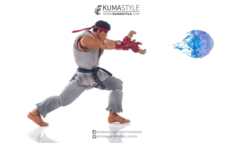 Toy Review: Bandai Tamashii S.H.Figuarts Ryu (Street Fighter V) - Kuma Style