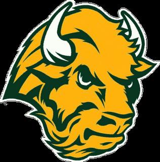 NDSU Bison Old Logo The lucky team? The North Dakota