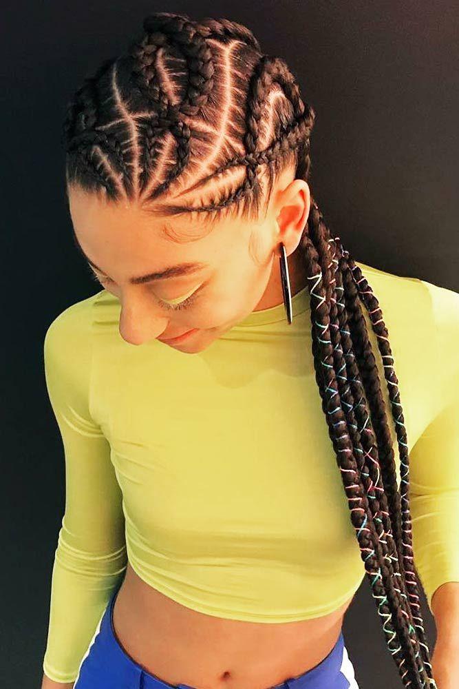 50 Cute Cornrow Braids Ideas To Tame Your Naughty Hair Cornrows Braids For Black Women Hair Styles Cornrow Hairstyles