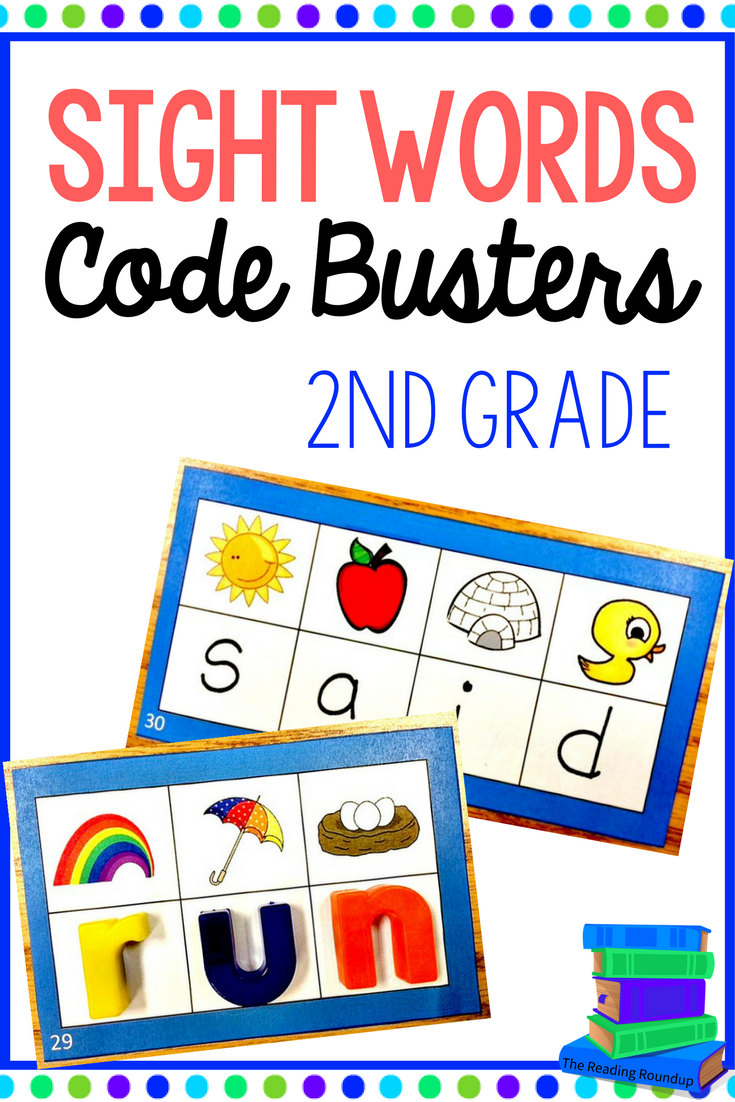 Sight words literacy center nd grade code busters initial