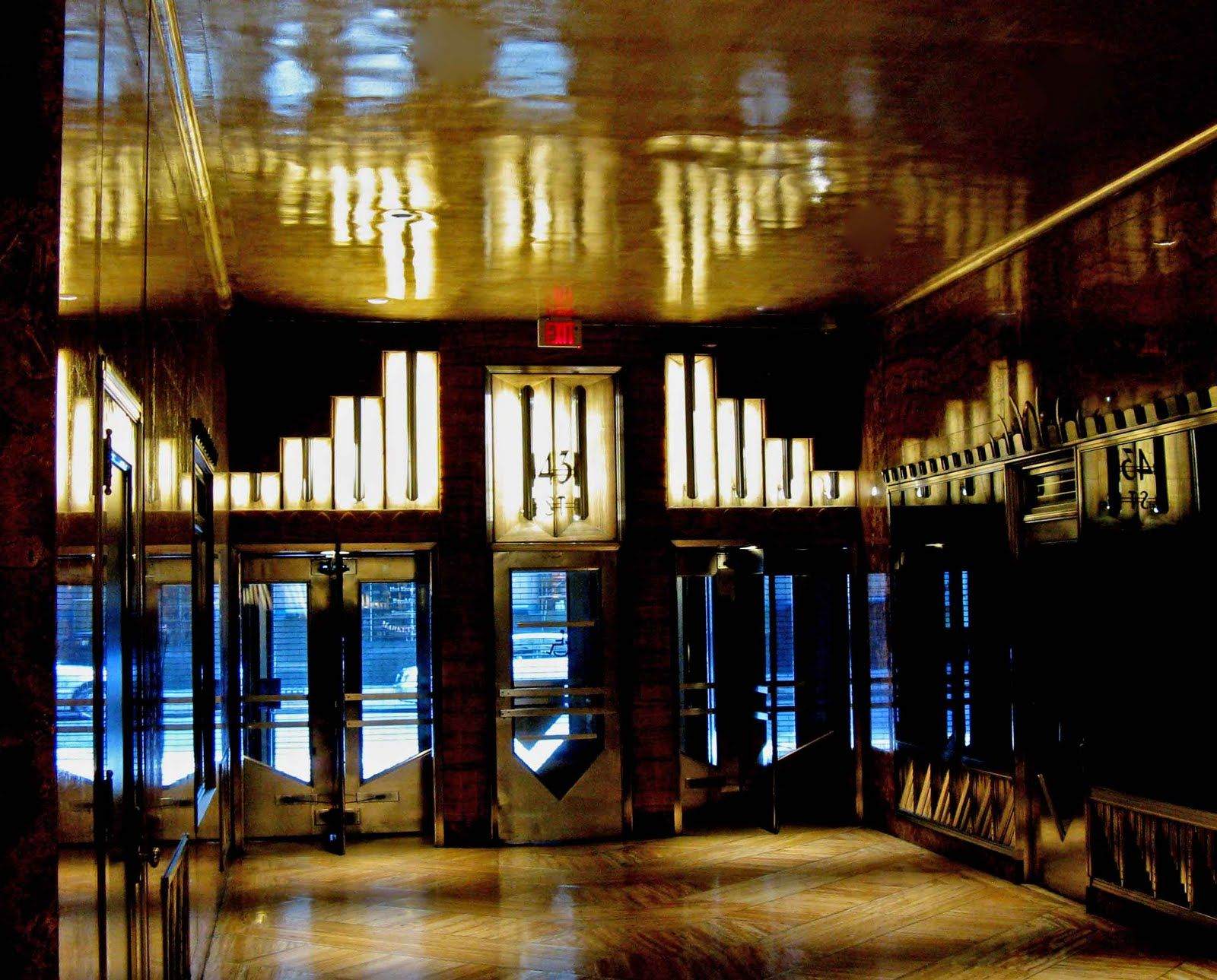 Interior Of Rockefeller Center,Ny Httpwwwnysleeperwordpresscom Tracking New York, New York