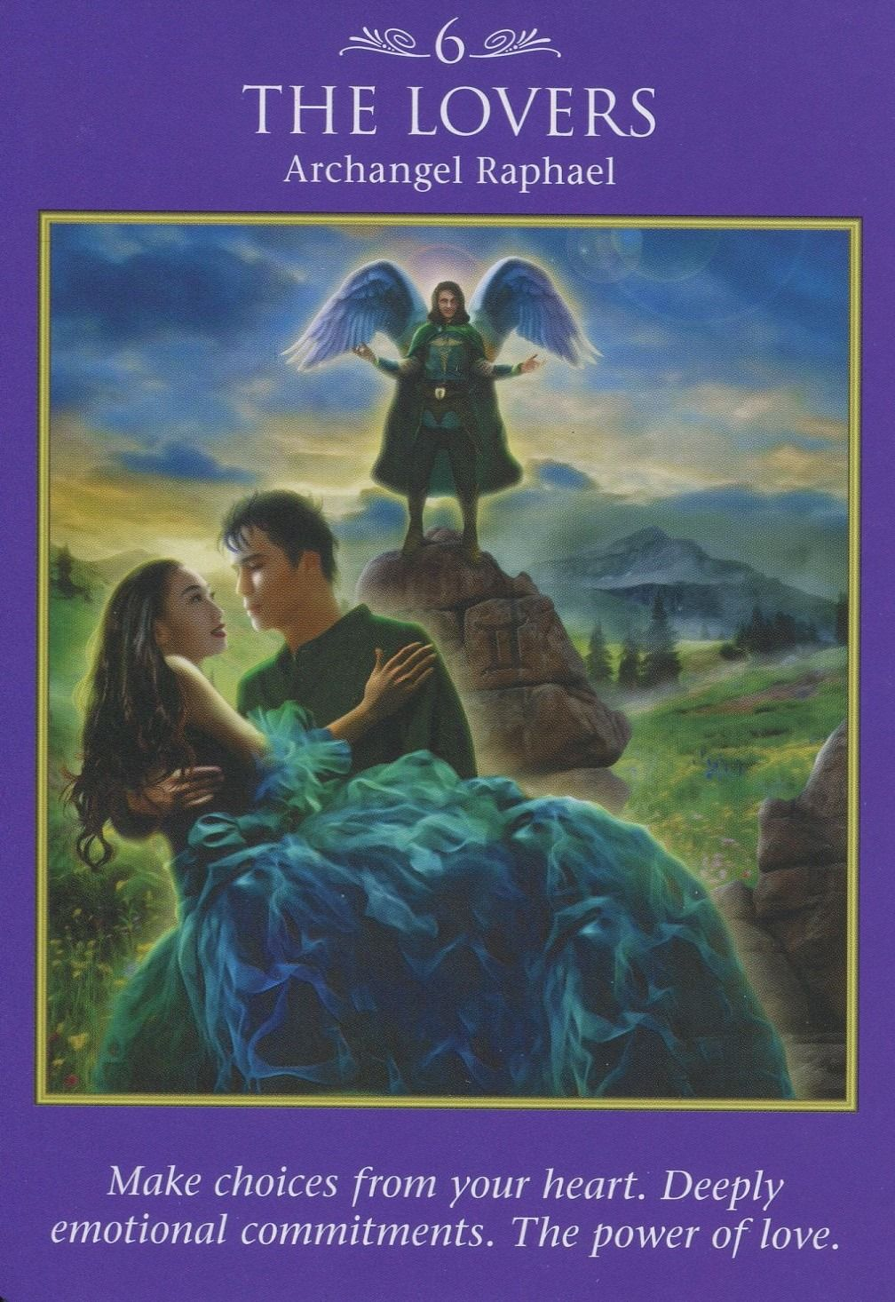 Archangel Oracle Divine Guidance: Archangel Power Tarot Card