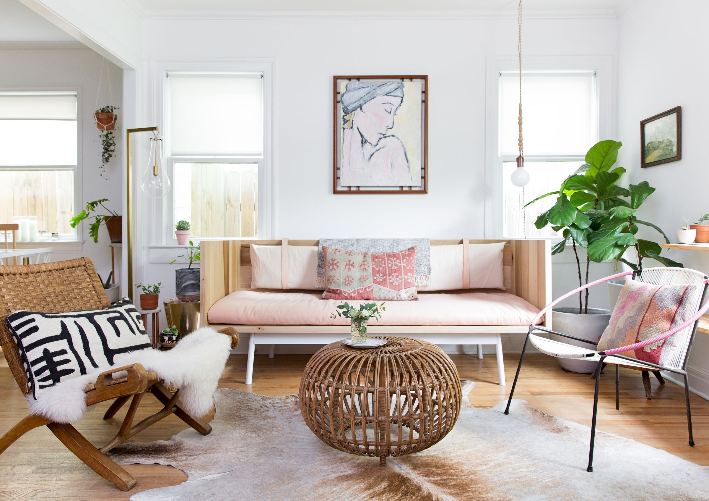 Hyde Park Bungalow Remodel Claire Zinnecker Design Living Room Decor Inspiration Living Room Inspo Living Room White
