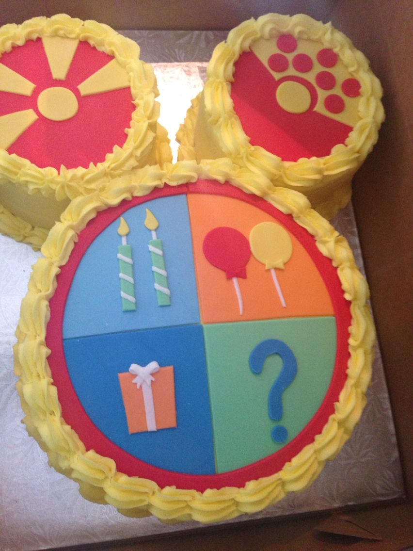 Phenomenal Mickey Mouse Clubhouse Toodles Birthday Cake 3Rd Birthday Cakes Funny Birthday Cards Online Alyptdamsfinfo