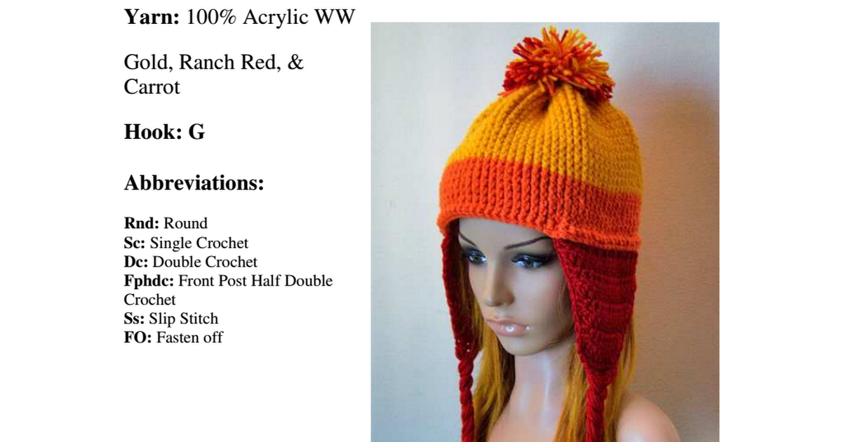 Jayne Hat Crochet Pattern Gallery - knitting patterns free download