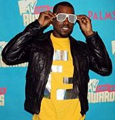 Kanye West Stunna Shades Hand Out During Dancing Favor Stunna Shades Sunglasses Kanye West