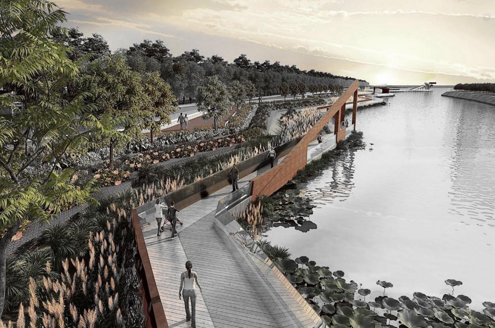 Gallery Of Waterfront Park Of Aiyi River Blvd International 33 Landscape Architect Landscape Architecture Waterfront Architecture