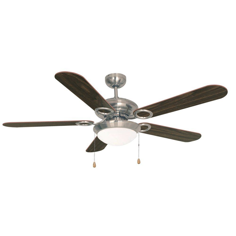 Ustellar 52 Inch Ceiling Fan With Lights Reversible Ceiling Fans Fixture With Light Kit 5 Wooden Blades And Fros Ceiling Fan With Light Ceiling Fan Fan Light