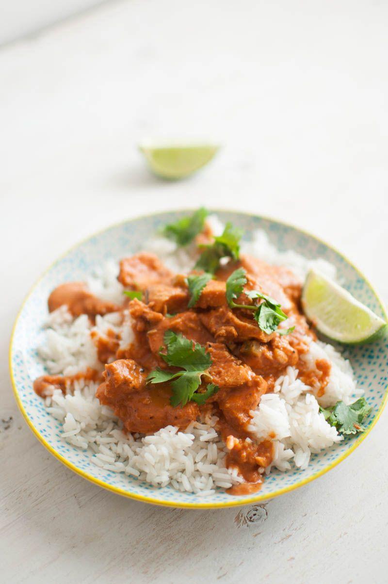 Chicken Tikka Masala.. one of my favorite all time dinners! #dinner #recipe #chicken