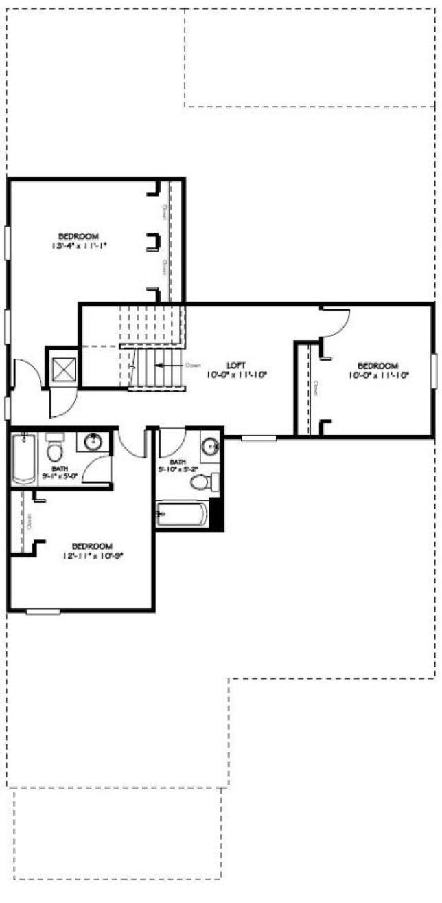 valencia second floor plan in independence winter garden fl