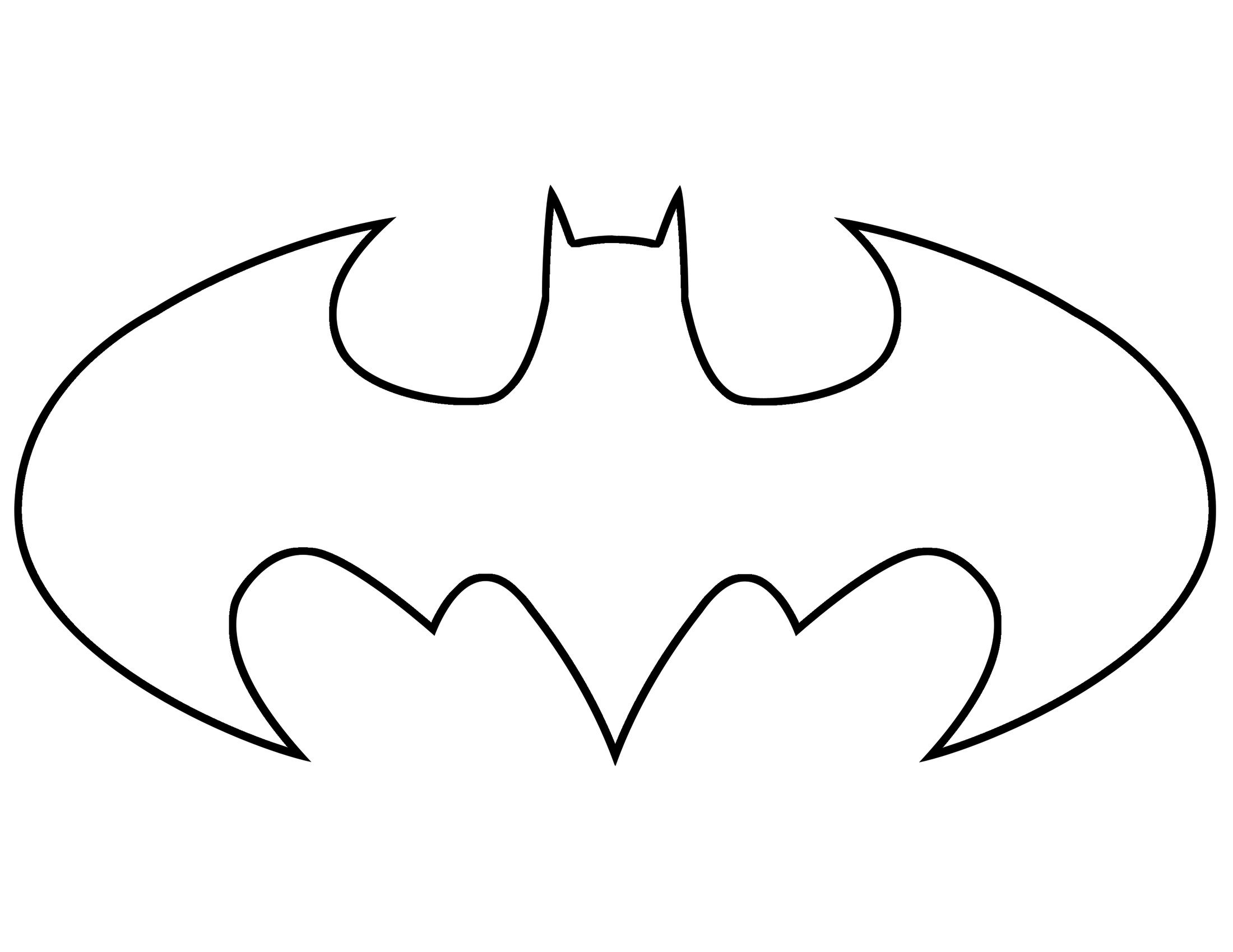 graphic regarding Batgirl Logo Printable named batman clipart 45 batman brand template totally free cliparts